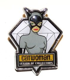 Legion Of Collectors DC Souvenir Pin/Badge Catwoman (Batman Animated Series). New. #Catwoman #Batman