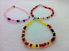 Winnie The Pooh Morse Code Bracelets by AnonymousSong on Etsy