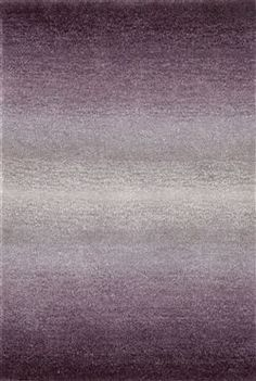 Trans Ocean Imports Ombre Horizon Purple Hand Tufted Purple Area Rug - 9663/49 | contemporary rugs