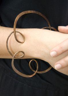 Forged Bracelet by Kate Furman