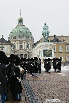 Amalienborg Palace and Frederiksstaden ~  Copenhagen, Denmark