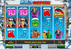 Der kostenlose #onlineSpielautomat Wild Rescue ist ein gutes und interessantes Produkt von #Novomatic. Haben Sie Erfolg mit dem online Glückspielautomat Wild Resque von Novomatic und genießen Sie die Wintersportarten!