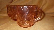 Coffee Mug Rosaline-Pink Cristal D'Arques/Durand of France (6) 12 oz mugs