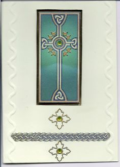 Handmade Celtic Card.