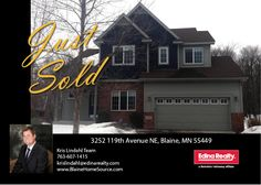 Just sold in The Lakes of Blaine.