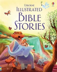 A fully illustrated collection of stories from the Bible, retold for young readers. Including Joseph and the Dreams, The Story of Baby Jesus, The Easter Story, Jonah and the Whale, Noah's Ark and more. A beautiful gift book that children will love to receive on any special occasion.  Also available in Spanish Tambien disponible en español