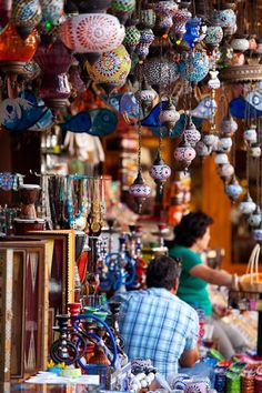 Lanterns at a market in Fethiye, Turkey #Fethiye #Turkey
