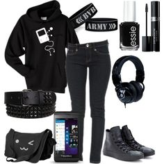 """Untitled #683"" by bulletproof-07 on Polyvore          can i just wear this everyday? :3"