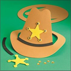 Foam Sheriff's Hat Craft Kit (makes 12) DIY Toy Photos & Pictures