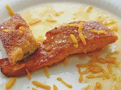 Salmón con costra de caramelo | Lino y Menta Salmon with candy crust | Lino y Menta
