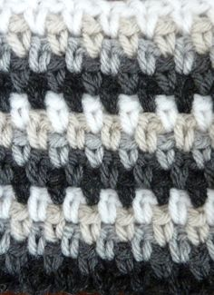 """Striped Woven Stitch. Part of weekly stitch tutorial by """"Book People Studio"""""""