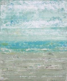 Abstract Seascape Painting  Sand and Sea by SageMountainStudio, $210.00