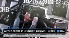 Georgia Man Sets Wife On Fire