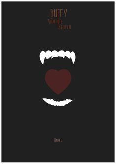 Buffy the Vampire Slayer - Angel poster - Rafa Garcia de la Mata