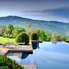Pool - Villa San Paolo Castello di Reschio, Umbria, Italy