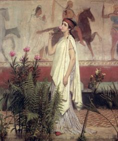 Sir Lawrence Alma-Tadema A Greek Woman print for sale. Shop for Sir Lawrence Alma-Tadema A Greek Woman painting and frame at discount price, ships in 24 hours. Lawrence Alma Tadema, Irish Art, Dutch Painters, Pre Raphaelite, Victorian Art, Art Graphique, Classical Art, Ancient Greece, Beautiful Paintings