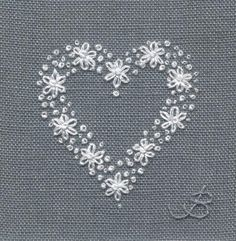 Heart - hand embroidery