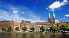 Trave river Germany travel and world Wallpaper - Wicked Wallpaper - FREE HD wallpapers