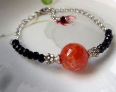 Bracciale Ametista braccialetto di pietra pietra viola