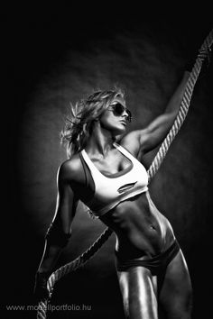 Studio Portfolio « Fitness Photographer I Fitness Photography I Zoltan Vegh International Fitness Photographer. Something with the ropes would be very cool. Body Fitness, Health Fitness, Female Fitness, Fitness Women, Fitness Humor, Fitness Apparel, Fitness Weightloss, Fitness Tips, Photos Corps