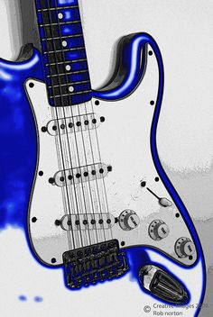 Fender Stratocaster in Electric Blue