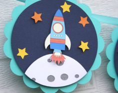 Items similar to Handmade JetPack Toy Rocketship, Spaceship ...