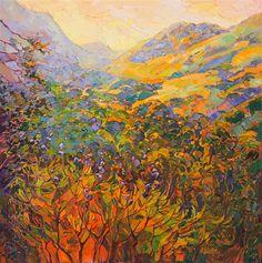 California impressionism oil painting by impasto painter Erin Hanson.