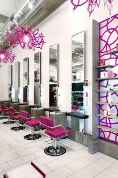 Salon interior design salon interior design, home hair salons, beauty Schönheitssalon Design, Design Salon, Salon Interior Design, Beauty Salon Design, Logo Design, Design Ideas, Home Hair Salons, Home Salon, Beauty Salon Decor