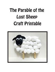 Luke 15 Parable of the Lost Sheep Craft