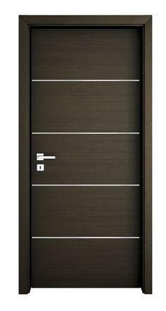 Flush Door Design, Home Door Design, Bedroom Door Design, Door Design Interior, Contemporary Interior Doors, Contemporary Front Doors, Modern Wooden Doors, Modern Door, Wooden Front Door Design