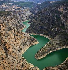 Çal kısık kanyonu / Denizli Turkey