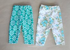 make baby leggings pattern