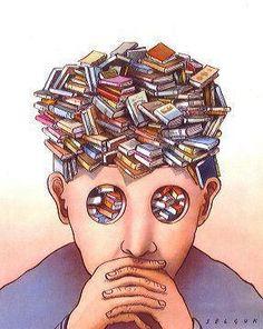 """Il più bel complimento che è stato rivolto ultimamente al Lettore Forte: """"Se penso a te, penso ai libri""""."""