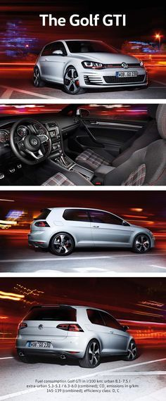 The Golf GTI is a legend thanks to its high performance power and self-assured… Volkswagen Models, Car Volkswagen, Vw Cars, Porsche Cars, Gti Mk7, Car Goals, Sport Seats, Cute Cars, Performance Cars