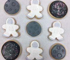 Spaceman Cookies by @cookiesbykatewi