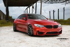 BMW M4 - Vossen VFS1 - Matte Graphite Vossen VFS1 - Silver Brushed F: 20x9 / R: 20x10.5