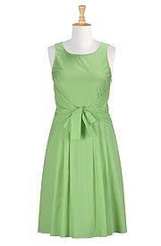 Claudine dress #eShaktiSpringItOn #eShakti