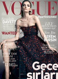 Lily Donaldson for Vogue Turkey December 2014