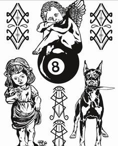 PARTAK GOD Z Tattoo, Tattoo Flash Art, Blackwork, Cool Tattoos, Tatting, Ink, Future, Inspiration, Biblical Inspiration