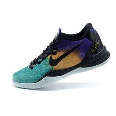 watch 4c2b5 d679c Nike Air Zoom Kobe 8 Pascua Basketball Shoes 555035 Galaxy Nebula