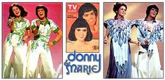 Donny and Marie TV show- My sister and I really enjoyed watching this show on Friday nights in the late 1970s!