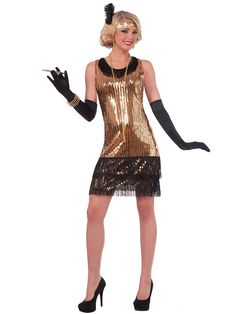Womens 20\'s Debutante Flapper Dress Costume | Wholesale 20\'s ...