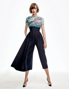 Karlie Kloss Sports Dior for Patrick Demarchelier in Vogue Japan Shoot