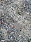 lovin' the wave pattern of this stone walkway   #stone, #garden, #walkway