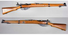 The Lee-Enfield bolt-action, magazine-fed, repeating rifle was adopted by the British Army in Lee Enfield, Military Surplus, Military Weapons, 303 British, British Army, Swedish Army, Battle Rifle, Bolt Action Rifle, Cool Guns
