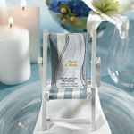 These miniature folding beach chairs are perfect for holding a place card or favor at your next beach themed party, oceanside event or tropical destination wedding. Personalized towel shaped stickers are optional. Nautical Wedding Theme, Beach Wedding Favors, Personalized Wedding Favors, Wedding Ideas, Beach Weddings, Themed Weddings, Seaside Wedding, Wedding Inspiration, Destination Weddings