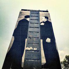 Escif's All City Canvas commemorating the 1968 Tlatelolco Massacre in Mexico City...