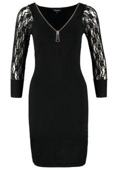 Robes Morgan REVISE - Robe pull - noir noir: 60,00 € chez Zalando (au 29/11/15). Livraison et retours gratuits et service client gratuit au 0800 740 357.