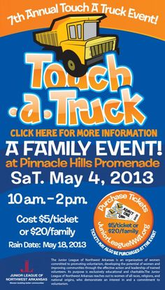 FundraiserHelp.com: Touch A Truck Fundraiser Event - How to add even more fun to your event and raise lots more money.