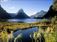 Best time to visit New Zealand South Island and North Island honeymoon. Find when is the best time to visit New Zealand and Australia and Auckland travel weather wise here. Places Around The World, Oh The Places You'll Go, Places To Travel, Places To Visit, Travel Destinations, Dream Vacations, Vacation Spots, Parks, Milford Sound